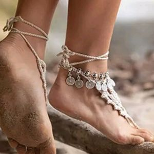 Jewelry - Bohemian style ankle braclet to make look slimmer